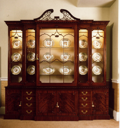 Residential Cabinets, A Selection Of Drinks Cutlery and Dinnerware ...