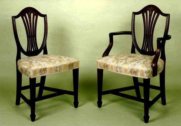 Residential Desks Quality Mahogany Partner And Pedestal
