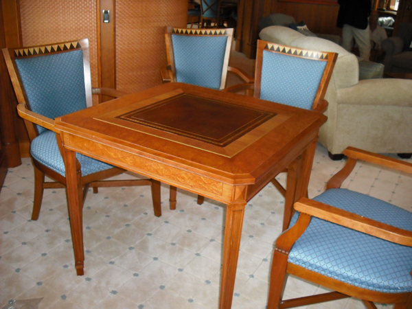 Card Table · Beading Myrtle Mainbase ... & Super Yacht Furniture Furniture Tables Chairs Ottoman Torchiers ...